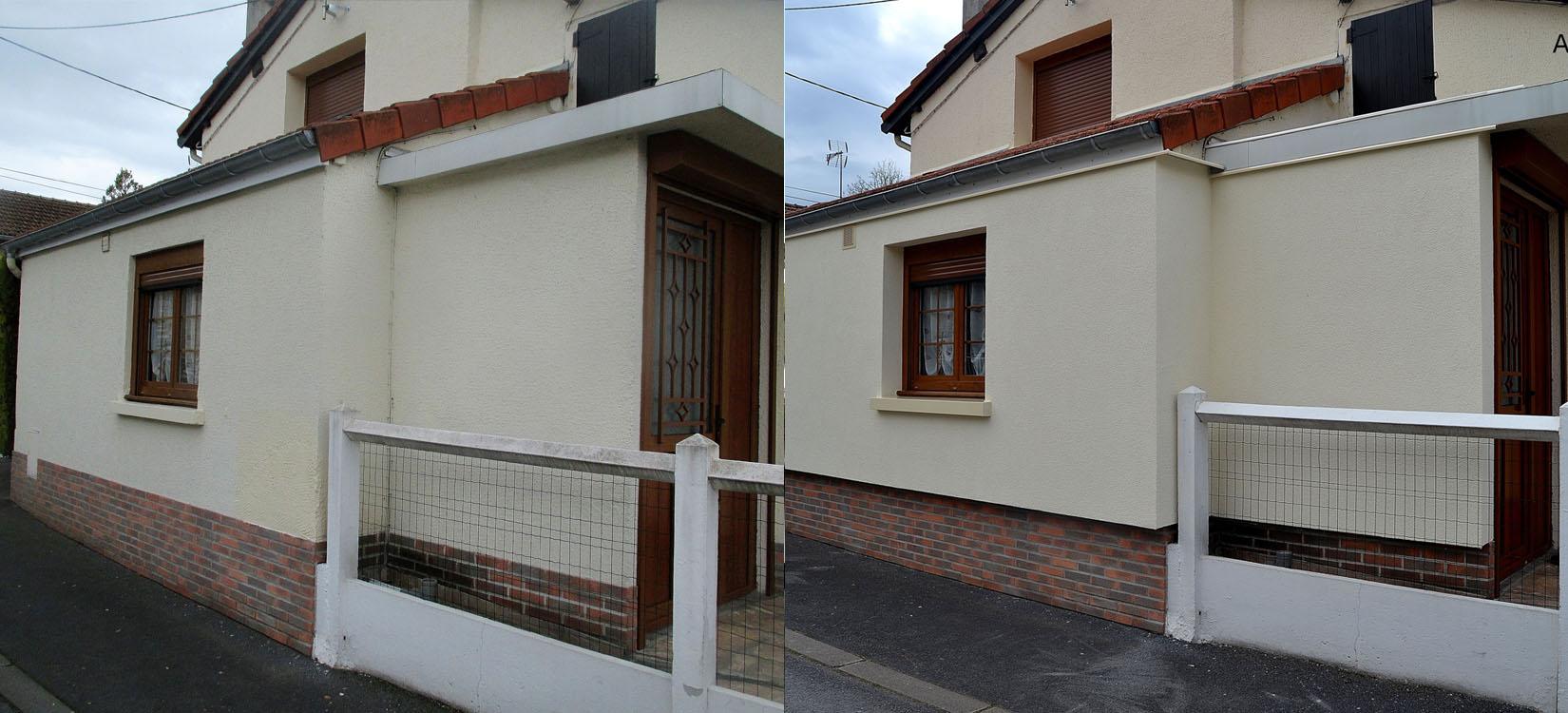 nettoyer facade with nettoyer facade cheap chantier. Black Bedroom Furniture Sets. Home Design Ideas
